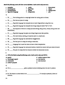Vocabulary Test