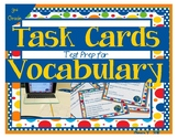 Vocabulary Test Question Task Cards