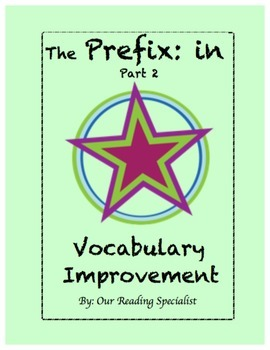 "Vocabulary: The Prefix ""in"" (Part 2)"