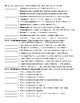 Vocabulary Their Way Grade 8 Chapter 2 Worksheet and KEY