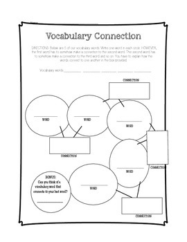 Vocabulary Tic-Tac-Toe Activities
