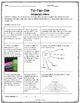 Vocabulary Tic Tac Toe Assignments