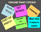 VOCAB THAT STICKS!