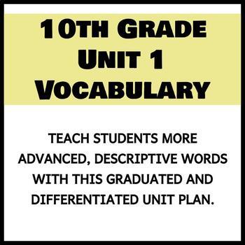 Vocabulary Unit 1 - 10th Grade