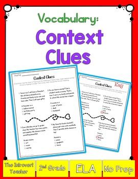 Vocabulary: Using Context Clues