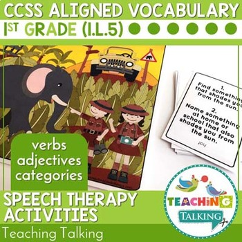 Vocabulary Activities CCSS Aligned for K to 2nd Grade Bundle