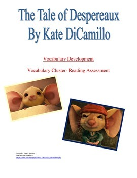 Vocabulary Cluster- Tale of Despereaux