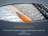 Vocabulary Warmup PPT