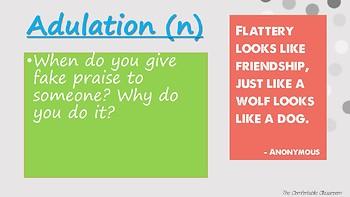 Vocabulary Week 6
