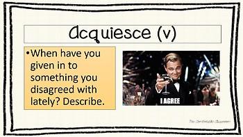 Vocabulary Week 8