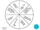 Vocabulary Wheels for 1st Grade Math - Centers, Review, Self-Checking