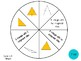 Vocabulary Wheels for 5th Grade Math - Centers, Review, Test Prep, Self-Checking