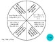 Vocabulary Wheels for 5th Grade Math - Centers, Review, Te