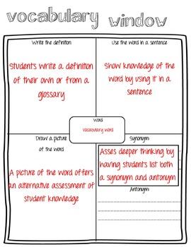 Vocabulary Window
