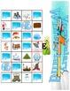 Winter Vocabulary Game Board