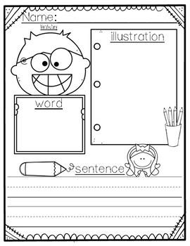 Vocabulary Word Activity