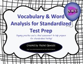 Vocabulary & Word Analysis for Standardized Test Prep
