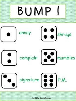 Vocabulary Word BUMP 2nd Grade Reading Street