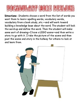 Vocabulary Word Builder