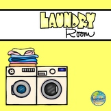 Vocabulary Word Cards--Laundry Room