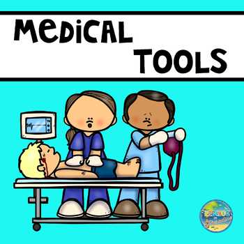 Vocabulary Word Cards--Medical Items