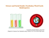 Vocabulary Word Cards-Science and Social Studies