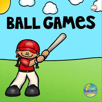 Vocabulary Word Cards for Ball Games