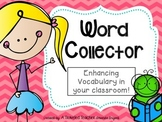 "Vocabulary ""Word Collector"""