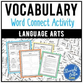 Vocabulary Activities Word Connect