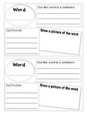 Vocabulary Word Finder