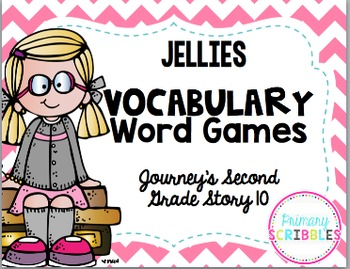 Vocabulary Word Games {Journey's Second Grade Unit 2}