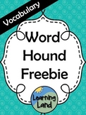 Vocabulary Word Hound