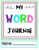 Vocabulary Word Journals