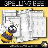 Spelling Bee Competition Word List