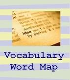 Vocabulary Word Map