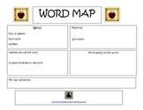 Vocabulary Word Map for Literacy