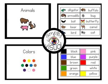 Functional Word Sets with Pictures for High Frequency Vocabulary Words Set 1