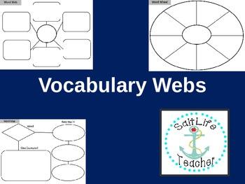 Vocabulary Word Webs