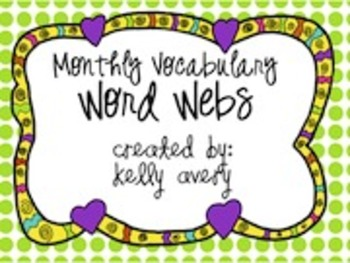 Vocabulary Word Webs