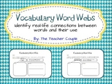 Vocabulary Word Webs - K-2
