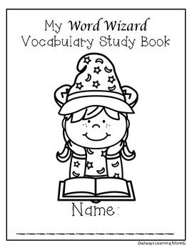 Vocabulary Word Wizard Study (FREE)