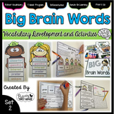 Vocabulary Activities: Big Brain Words Set 2