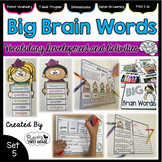 Vocabulary Activities: Big Brain Words Set 5