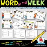 Vocabulary   Word Work   Language Arts Skills and Activities