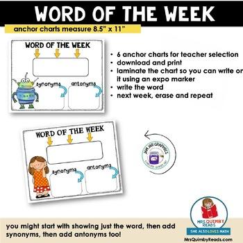 Vocabulary Activities | Language Arts Skills