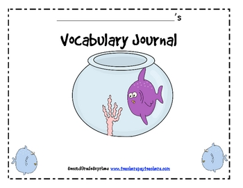 Vocabulary Word Work Package