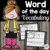 Word of the Day Activities