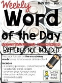 Vocabulary - Word of the Day - Inventions - Week 1