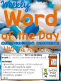Vocabulary - Word of the Day - Inventions - Week 3