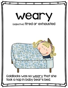 Vocabulary Word of the Week Packet - 1st Grade